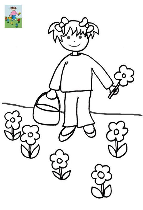 Coloriage avec modele page 2 - Modele dessin fleur ...